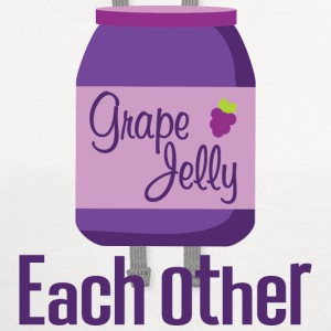 Made For Each Other Couples (Jelly) T-shirt | Matc - Contrast Hoodie
