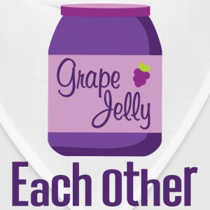 Made For Each Other Couples (Jelly) T-shirt | Matc - Bandana