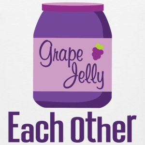 Made For Each Other Couples (Jelly) T-shirt | Matc - Men's Premium Tank