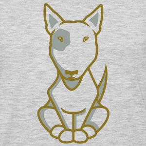 Bull Terrier illu_2013_white_orig T-Shirts - Men's Premium Long Sleeve T-Shirt
