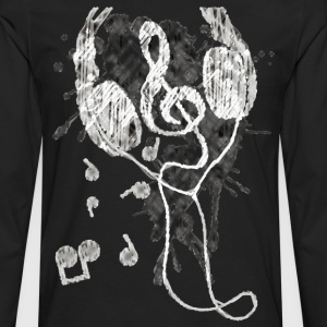 Headphones(G) - Men's Premium Long Sleeve T-Shirt