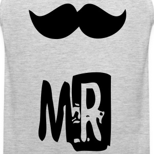 mr mustache T-Shirts - Men's Premium Tank