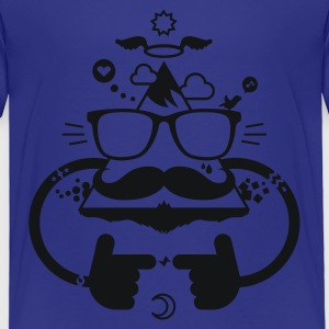 Hipster be cool 1.1c Kids' Shirts - Toddler Premium T-Shirt
