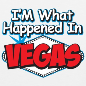 im what happens in vegas - Men's Premium Tank
