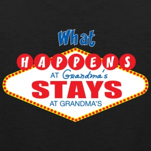 what happens at grandma's stays at grandma's - Men's Premium Tank