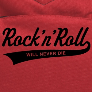 Rock 'n' Roll will never die Women's T-Shirts - Computer Backpack