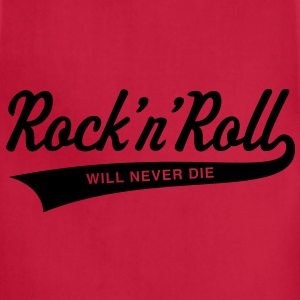 Rock 'n' Roll will never die Women's T-Shirts - Adjustable Apron