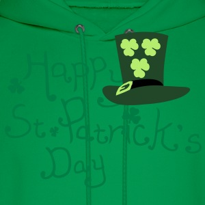 Happy st. Patrick's day lucky charm Women's Plus S - Men's Hoodie