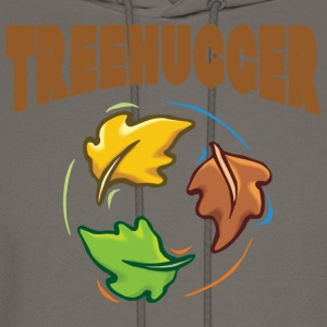 Earth Day Tree Hugger T-Shirt - Men's Hoodie