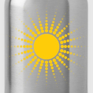 dotted sun - Water Bottle