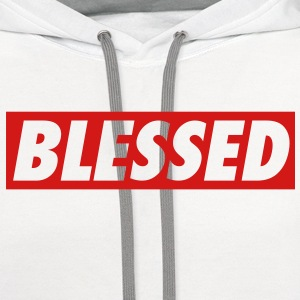 Men's Blessed T-Shirt - Contrast Hoodie