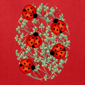 ladybugs woman's tshirt - Tote Bag