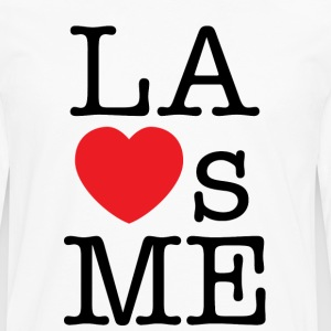 Los Angeles Loves Me T-shirt - Men's Premium Long Sleeve T-Shirt