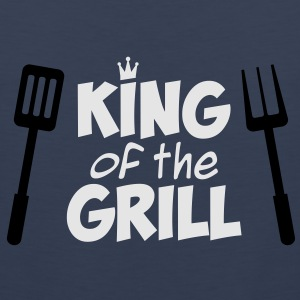 King of the Grill T-Shirt - Men's Premium Tank