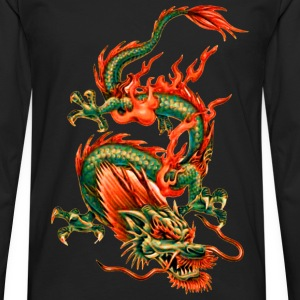 Oriental Dragon T-Shirts - Men's Premium Long Sleeve T-Shirt