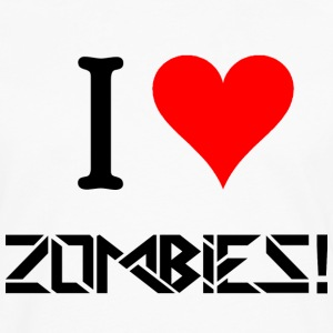 I Love Zombies.png Women's T-Shirts - Men's Premium Long Sleeve T-Shirt