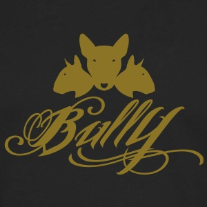 Bull Terrier Bully 3heads T-Shirts - Men's Premium Long Sleeve T-Shirt