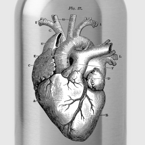 Anatomically correct heart - Water Bottle