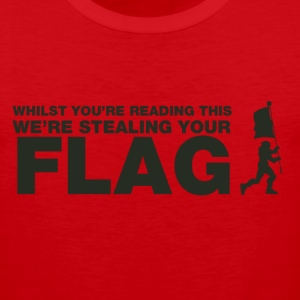 Capture The Flag T-Shirts - Men's Premium Tank