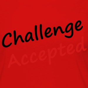 Challenge accepted - Women's Premium Long Sleeve T-Shirt