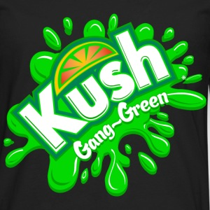Kush Gang-Green - Men's Premium Long Sleeve T-Shirt
