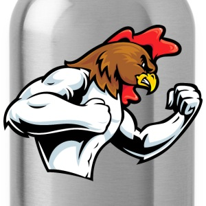 rooster fight - Water Bottle