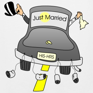 just married - Men's Premium Tank
