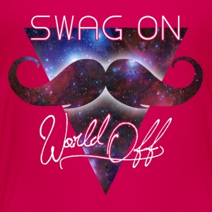 world off swag on Kids' Shirts - Toddler Premium T-Shirt