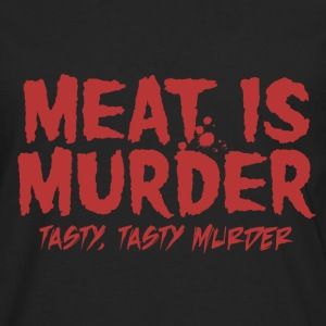 Meat is Tasty Murder T-Shirts - Men's Premium Long Sleeve T-Shirt
