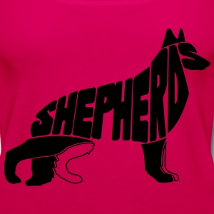 German Shepherd Art T-Shirts - Women's Premium Tank Top