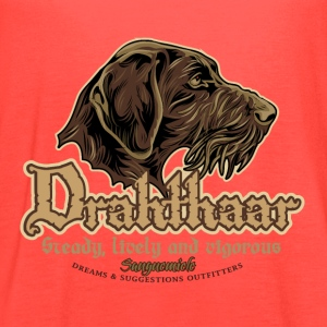 drahthaar_head T-Shirts - Women's Flowy Tank Top by Bella