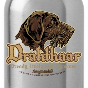 drahthaar_head T-Shirts - Water Bottle