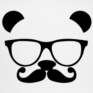 Panda with glasses and mustache T-Shirts - Trucker Cap