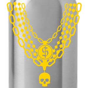 gold chains necklace T-Shirts - Water Bottle