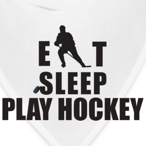 Eat Sleep Hockey T-Shirt - Bandana