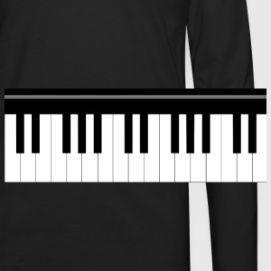 Piano keyboard T-Shirts - Men's Premium Long Sleeve T-Shirt