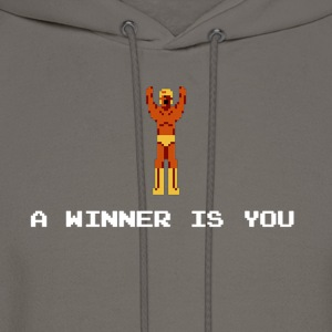 A winner is you - Giant Panther - Men's Hoodie