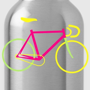 Fixed Gear Bike - Bicycle T-Shirts - Water Bottle