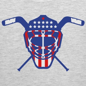 Hockey Goalie Mask Helmet USA T-Shirts - Men's Premium Tank