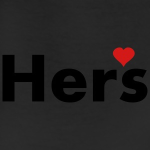 Hers - part of his and hers set Women's T-Shirts - Leggings