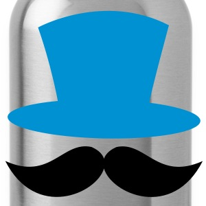 top hat and enormous moustache ringmaster Kids' Shirts - Water Bottle