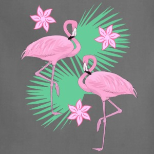 tropical flamingos - Adjustable Apron