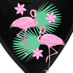 tropical flamingos - Bandana