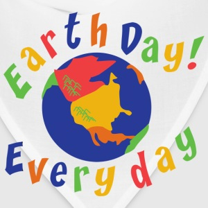 Earth Day Every Day T-Shirt - Bandana