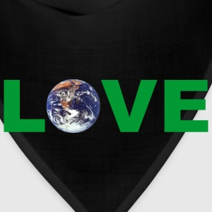 Earth Day Love Mother Earth T-Shirt - Bandana
