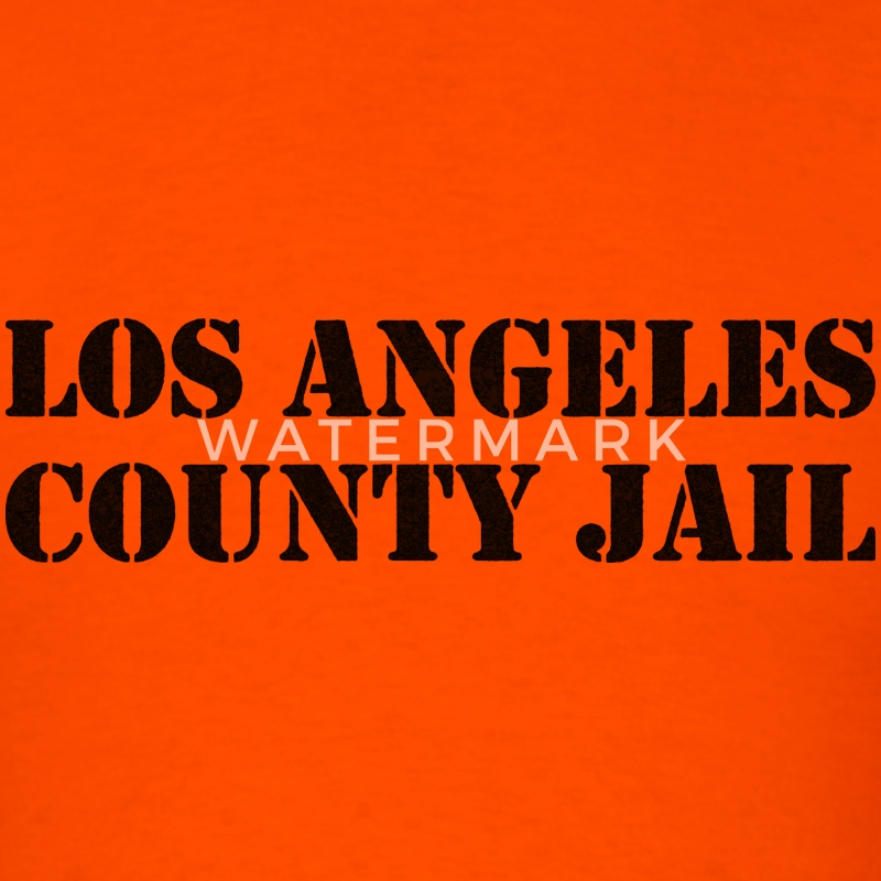 Los Angeles County Jail T-Shirts - Men's T-Shirt