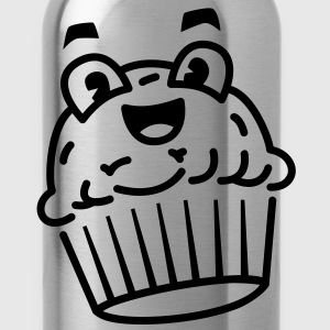cupcake_01 Kids' Shirts - Water Bottle