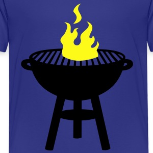 grill with fire Kids' Shirts - Toddler Premium T-Shirt