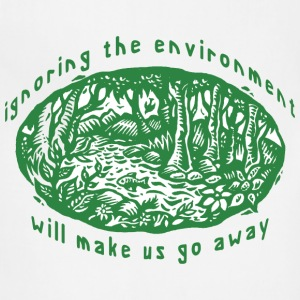 Earth Day Environment T-Shirt - Adjustable Apron