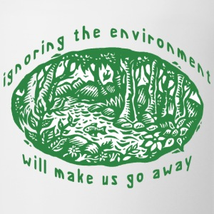 Earth Day Environment T-Shirt - Coffee/Tea Mug